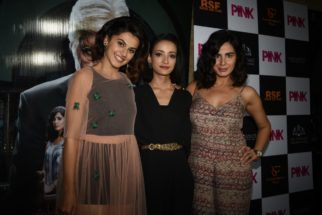 Kriti Sanon, Preity Zinta, Juhi Chawla, grace the special screening of 'Pink'-31