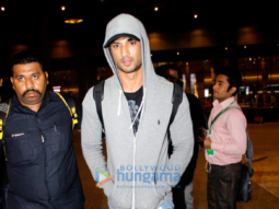 Sushant Singh Rajput & Kangna Ranaut snapped at the domestic airport