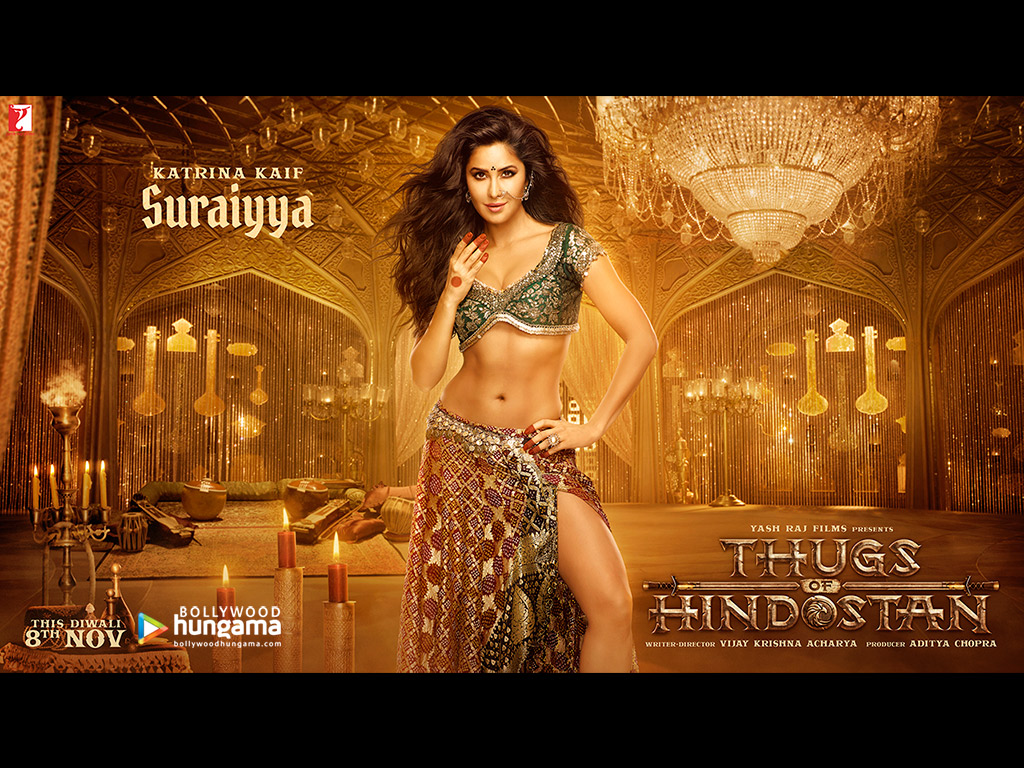 Movie Wallpapers Of Thugs of Hindostan