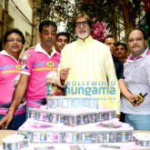 Amitabh Bachchan celebrates his 74th birthday with the media