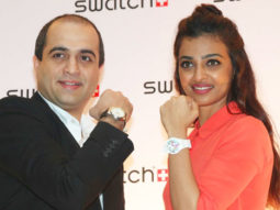 Radhika Apte At The First Corporate Launch Of Swatch