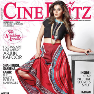 Taapsee Pannu On The Cover Of Cine Blitz