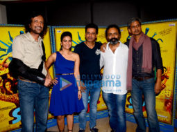 Team of 'Saat Uchhakkey' promotes their film at a suburban hotel
