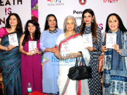 Shabana Azmi, Waheeda Rehman, Raveena Tandon grace Anjali Chhabria's book 'Death Is Not The Answer'