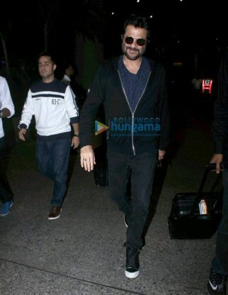 Sridevi, Anil Kapoor & Nagma snapped at the airport