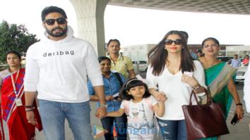 Aishwarya Rai Bachchan, Abhishek Bachchan, Aamir Khan and others spotted at the airport
