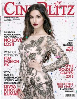 Divya Khosla Kumar On The Cover Of Cine Blitz