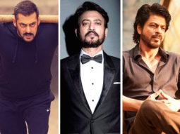 Salman Khan, Irrfan Khan, Shah Rukh Khan