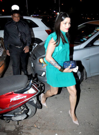 Freida Pinto snapped post dinner at Bastian, Bandra