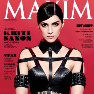 Kriti Sanon On The Cover Of Maxim