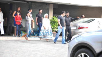 Salman Khan & Iulia Vantur snapped post Christmas brunch at Arpita Khan's house