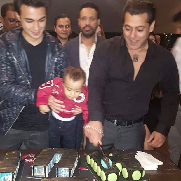 Check out Salman Khan all smiles as he cuts his birthday cake with