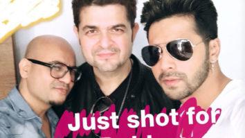 Varun Dhawan shooting for Dabboo Ratnani's calendar