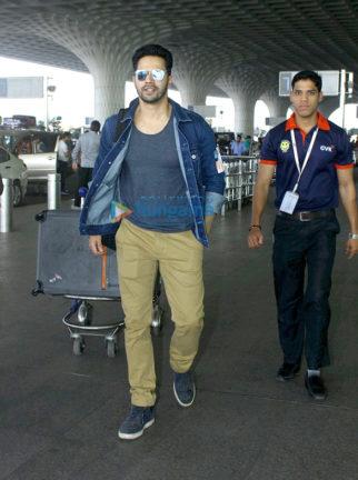 Varun Dhawan, Sanjay Dutt and Sridevi snapped at the airport