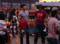 On The Sets Of The Film Ok Jaanu