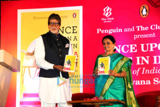 Amitabh Bachchan unveils Bhawana Somaaya book 'Once Upon A Time In India – A Century of Indian Cinema'