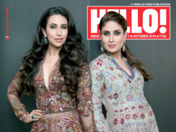 Karisma Kapoor & Kareena KapoorOn The Cover Of Hello!