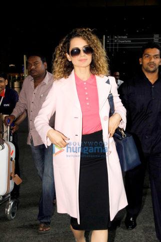 Kangna Ranaut, Vaani Kapoor, Sushmita Sen & Kanika Kapoor snapped at the airport