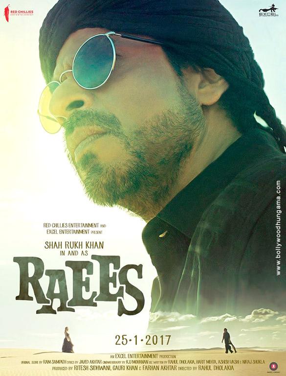 RAEES (2017) con SRK + Jukebox + Sub. Español + Online Raees-1