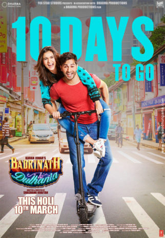 First Look Of The Movie Badrinath Ki Dulhania