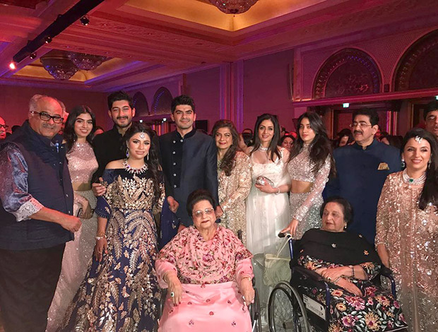Check out Sonam Kapoor, Arjun Kapoor and Harshavardhan Kapoor dazzle at their cousin Akshay Marwah's big fat Punjabi wedding
