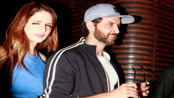 Hrithik Roshan, Susanne Khan, Preity Zinta and Abhishek Kapoor snapped post party at 'Estella'