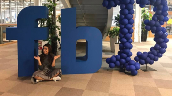 Huma Qureshi becomes the first Indian actress to visit the Facebook headquarters in London features