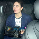 Kareena Kapoor Khan, Karisma Kapoor, Ranbir Kapoor, Saif Ali Khan and Sara Ali Khan snapped post dinner at Shashi Kapoor's house