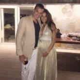 Lisa Haydon sporting her baby bump alongside hubby Dino Lalvani