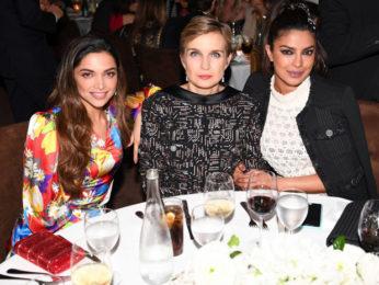 Check out: Deepika Padukone and Priyanka Chopra reunite at Pre-Oscars 2017 party