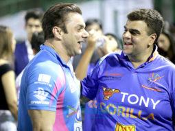 Sohail Khan's Team Mumbai Heros Vs Tony Gorilla at the Tony Premiere League cricket match