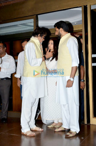 Aishwarya Rai Bachchan's father's prayer meet