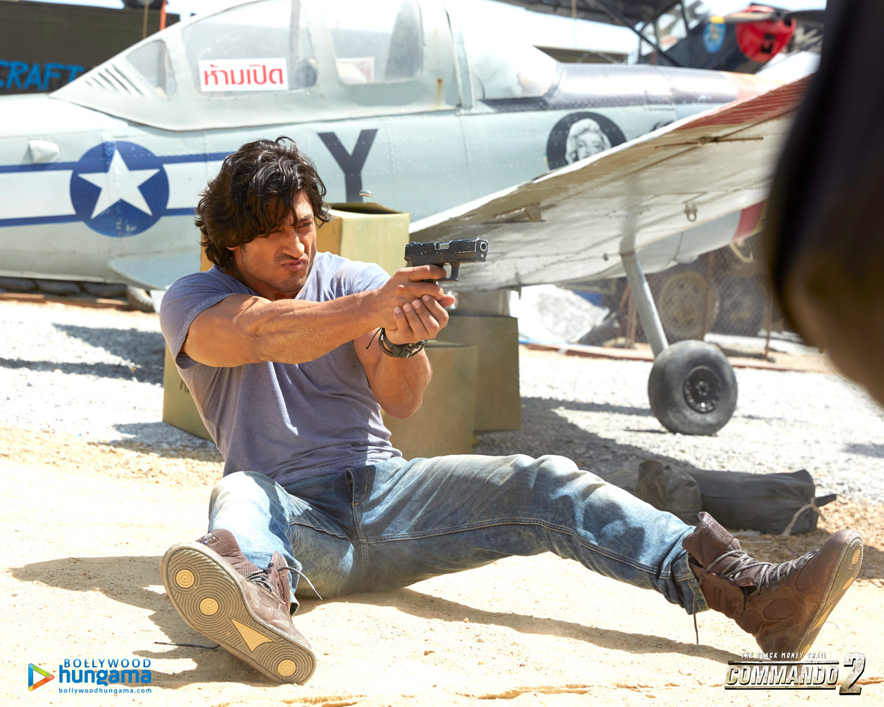 Commando 2 Wallpaper: Commando-2-3-8 - Bollywood