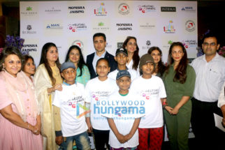 Imran Khan and others grace Helping Hands event