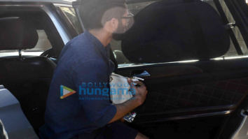 Shahid Kapoor and Mira Rajput snapped with Baby Misha Rajput