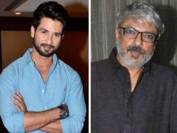 Shahid Kapoor to collaborate with Sanjay Leela Bhansali once again