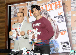 Vidyut Jammwal unveils the latest issue of 'Health & Nutrition'