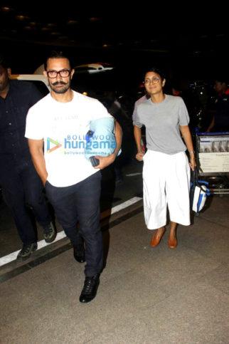 Aamir Khan, Ranveer Singh, Ajay Devgn, Soha Ali Khan and Kunal Khemu snapped at the airport