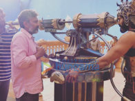 On The Sets Of The Movie Baahubali 2 - The Conclusion
