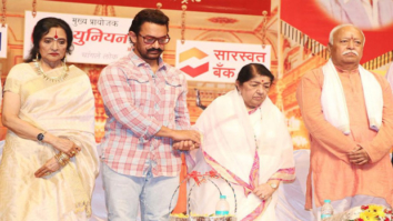 Check out 16 years later, Aamir Khan accepts an award at the 75th Dinanath Mangeshkar Awards2