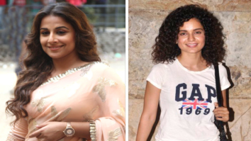 Here's why Vidya Balan claims she is similar to Kangna Ranaut