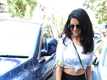 Nimrat Kaur snapped at Sequel Bistro