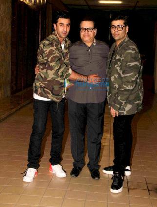 Ranbir Kapoor, Ramesh S Taurani, Karan Johar