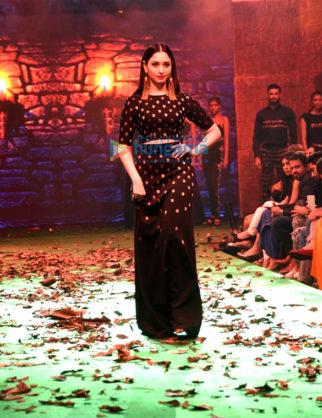 Tamannaah Bhatia walks for Saurabh Kant and Crocs at Bahubali Fashion Show