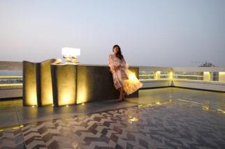 The terrace of Karan Johar's pad designed by Gauri Khan