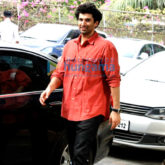 Aditya Roy Kapoor snapped post inspecting work at his new house in Bandra