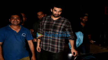 Aditya Roy Kapur snapped post partying with close friends