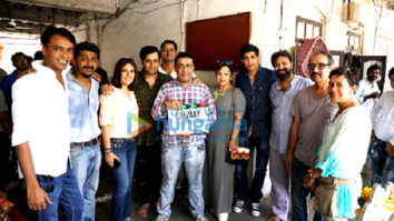 On The Sets Of The Movie Baazaar