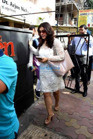 Kajol, Dia Mirza and Malaika Arora Khan snapped at close friend Ryan's lunch in Bandra