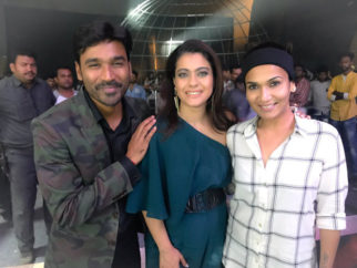 Kajol shoots for a special music with Dhanush and Soundarya Rajinikanth for VIP 2-1